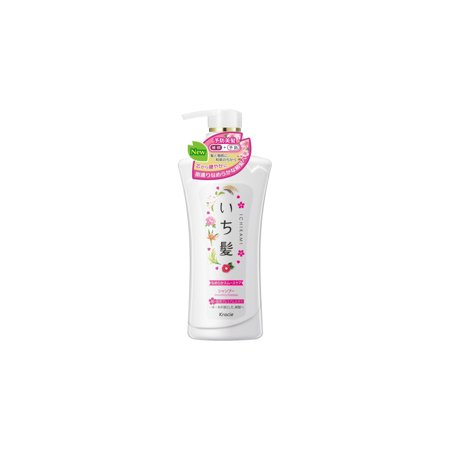 Kracie Ichikami Herbal Smooth Care Shampoo 480ml (Smooth Care)