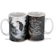 Wings As Eagles Ceramic Stoneware Mug - Holds 16 Ounces