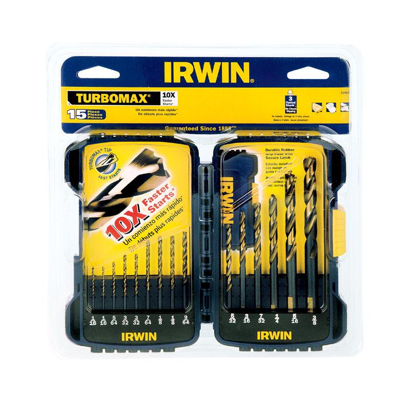 IRWIN Tools 1871023 Impact Performance Series 3//32-Inch Turbomax Black and Gold Drill Bit