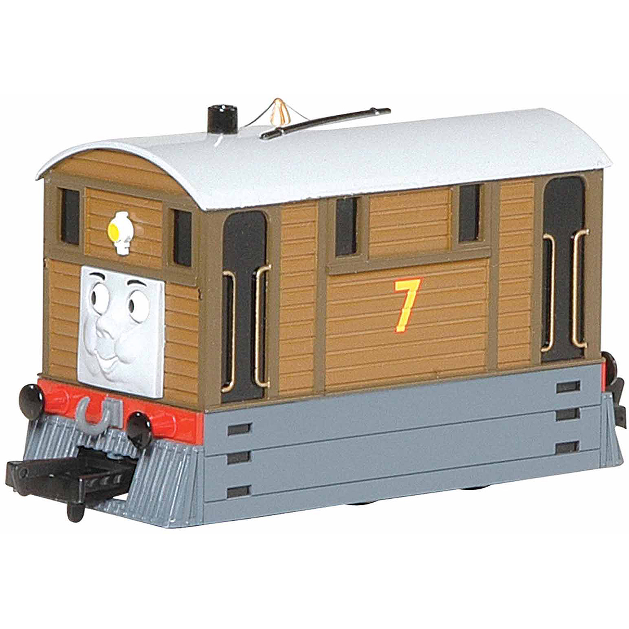 Bachmann Trains Thomas and Friends Toby The Tram Engine Locomotive with Moving Eyes, HO Scale Train