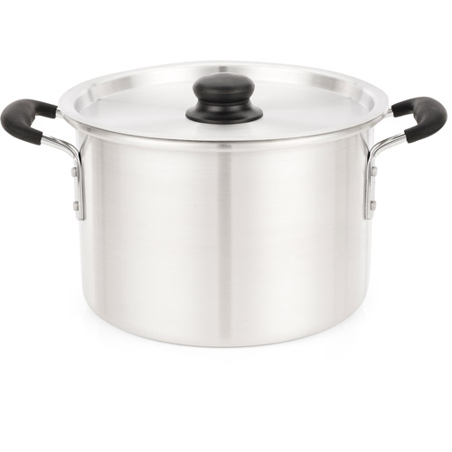IMUSA 8-Quart Stock Pot with Lid and Soft-Touch Handles