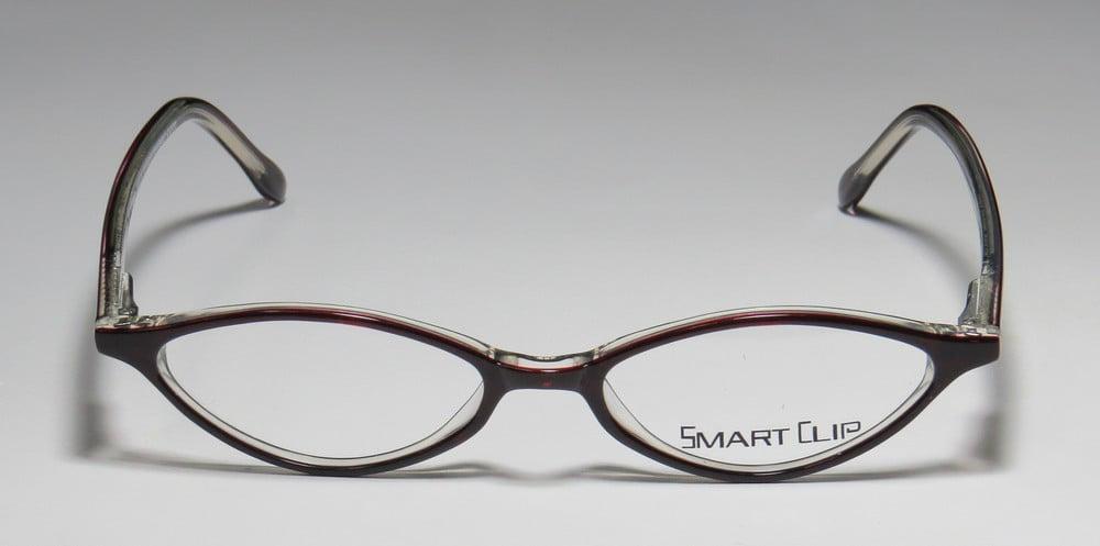 52abf70a26e9 SmartClip - New Smartclip Ksc918 Womens Ladies Cat Eye Full-Rim Black   Bone  Cat Eye Polarized Clip-on Lenses Frame Demo Lenses 48-16-140 Sunglass Lens  ...
