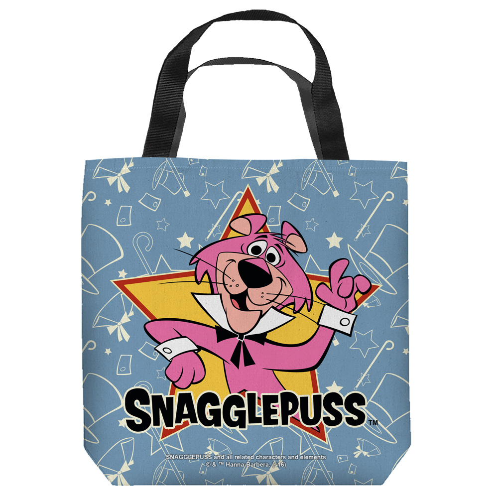 Snagglepuss Snagglepuss Tote Bag White 13X13