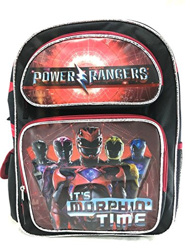"""Backpack Power Rangers Movie Morphin Time 16"""" School Bag 146515 by Accessory Innovations"""