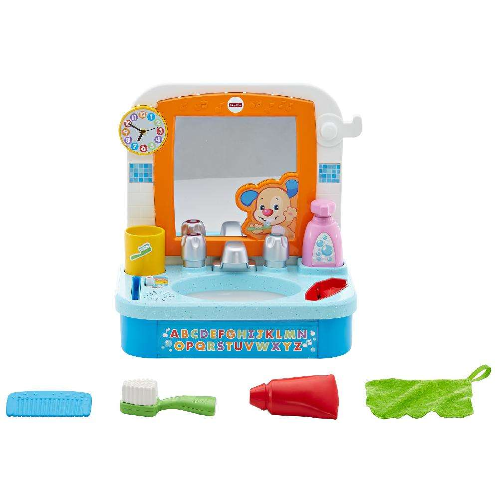 Fisher-Price Laugh & Learn Let\'s Get Ready Sink - Walmart.com