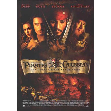 Pirates Of The Caribbean: The Curse Of The Black Pearl - Movie Poster / Print (Regular Style) (Size: 27