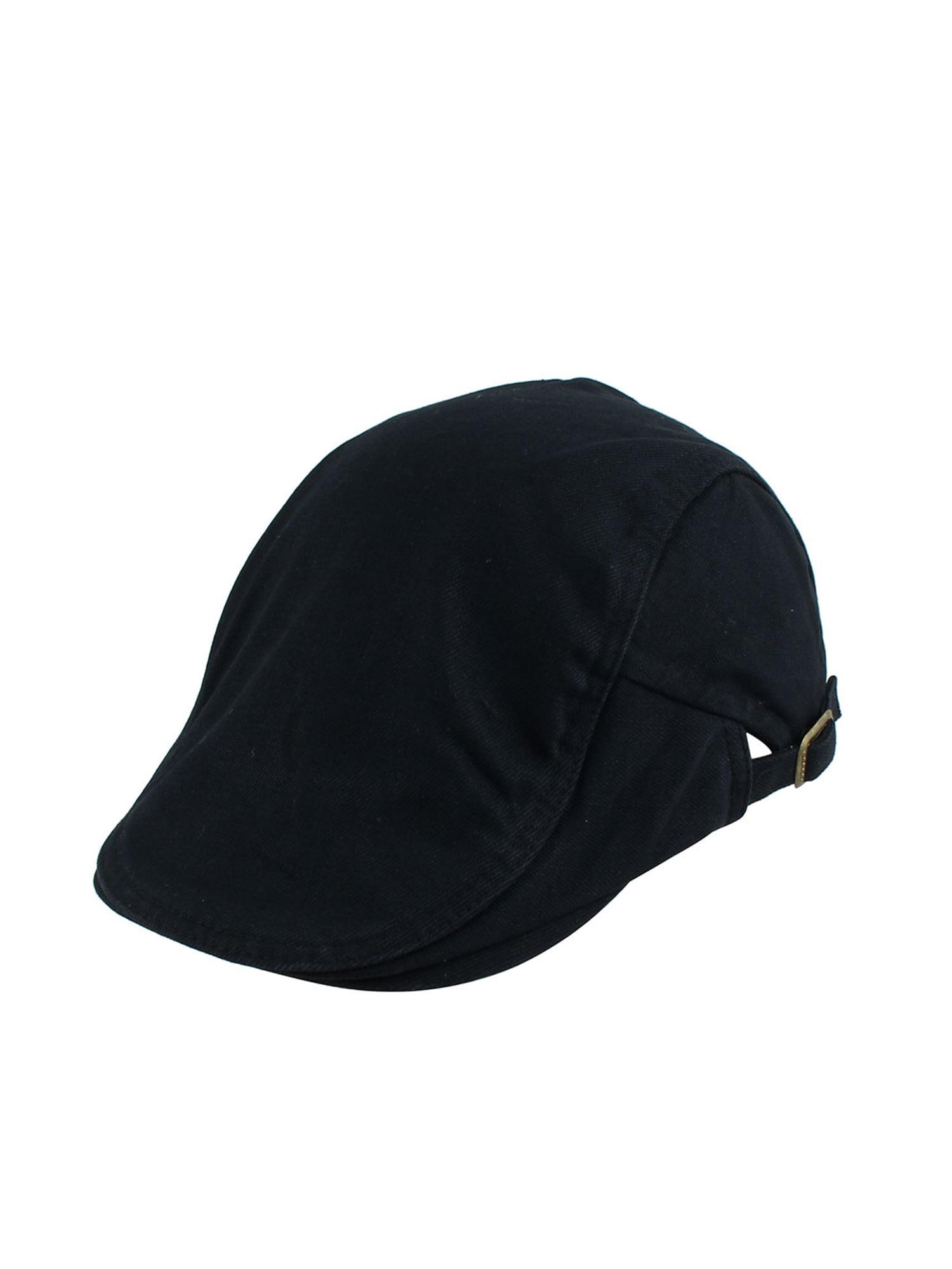 a10fb9b8522 Unique BargainsCanvas Summer Newsboy Duckbill Ivy Cap Driving Flat  Adjustable Beret Hat White