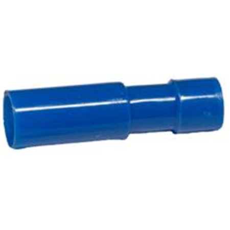 Receptacle Disconnect - Nylon Fully Insulated Double Crimp Receptacle Disconnects - 16-14 Wire,.153 Receptacle, Pack Of 100