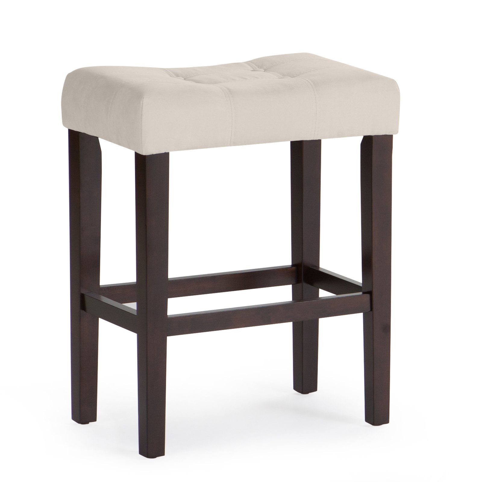 Palazzo 26 Inch Saddle Counter Stool Walmart Com