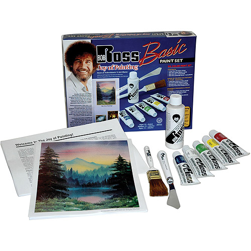 Bob Ross Oil Paint Basic Set
