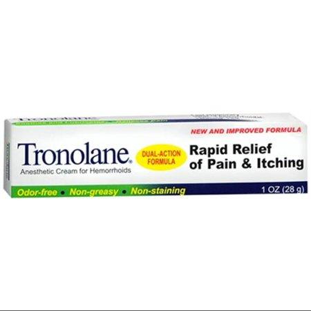 TRONOLANE Crème pour Anesthetic Hémorroïdes (1 oz Lot de 2)