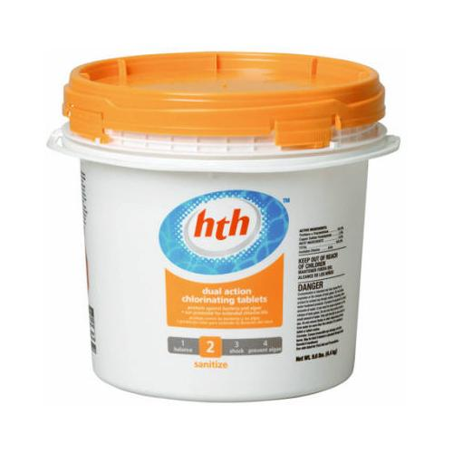"HTH Super 3"" Chlorinating Tablets, 9.6 lb"