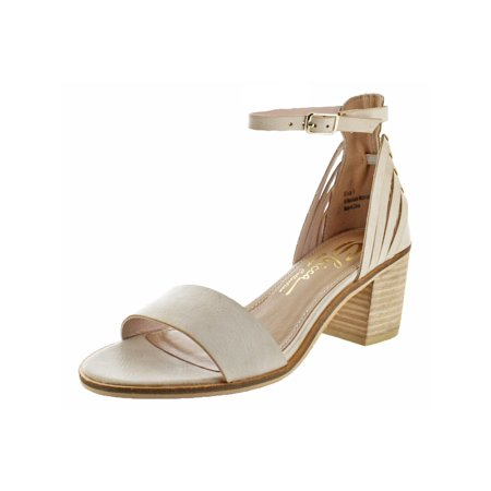 Womens Fars Open Toe Slingback Dress Sandals