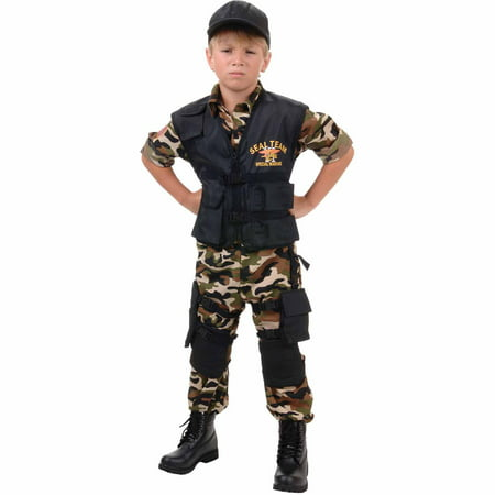 Team Usa Halloween Costumes (Seal Team Child Halloween)