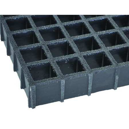 FIBERGRATE 878980 Molded Grating, Span 6 ft.