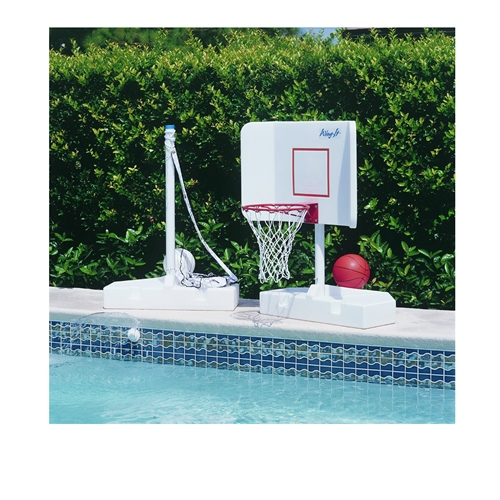 Pool Shot Products Pool Volleyball/Basketball Set by Pool...