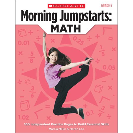 Morning Jumpstarts: Math (Grade 5) : 100 Independent Practice Pages to Build Essential Skills Jumpstart Kindergarten Educational Software