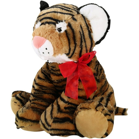 Holiday Time Jungle Plush, Tiger