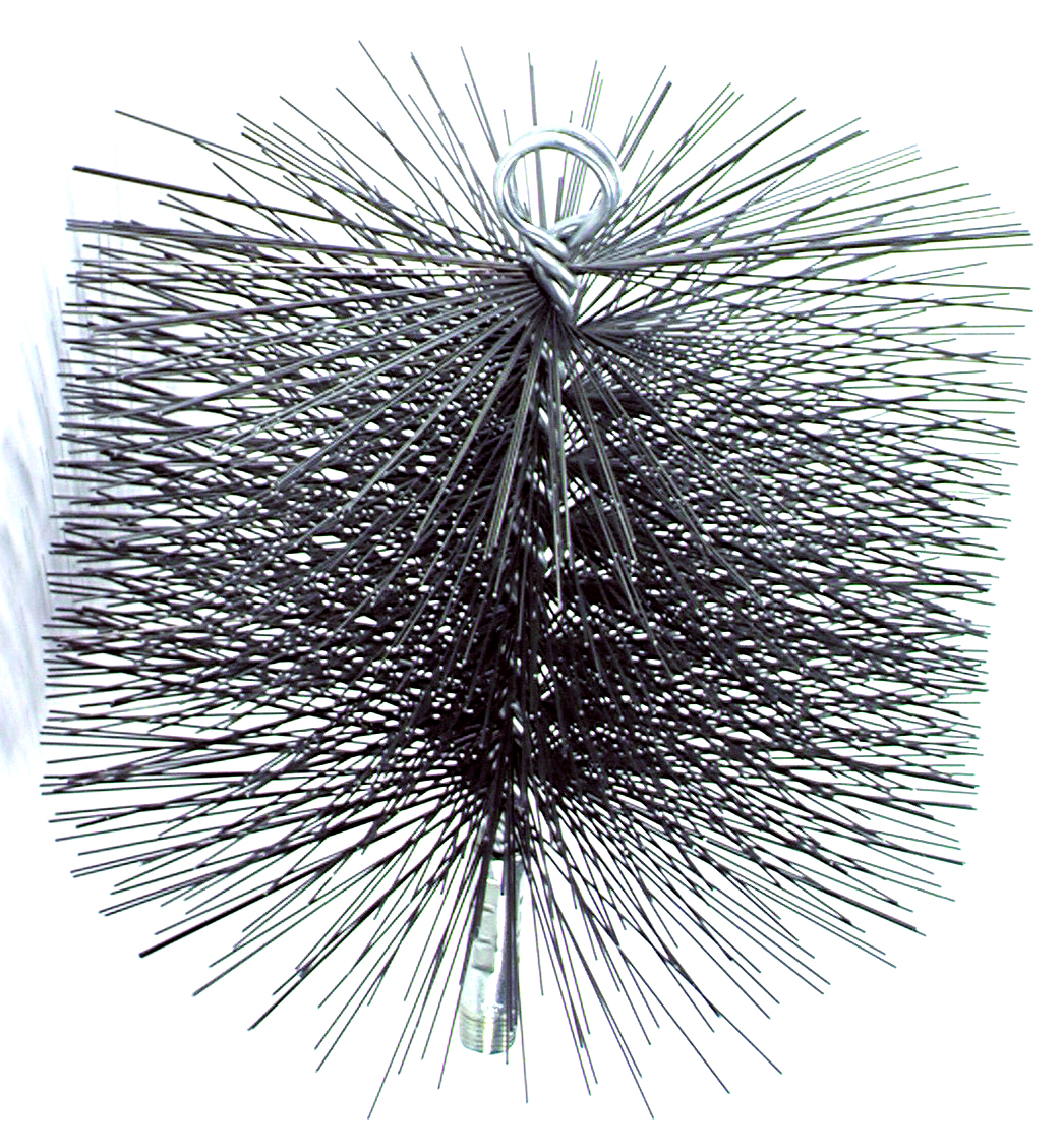 Chimney Sweep 8 in. Round Wire Chimney Cleaning Brush