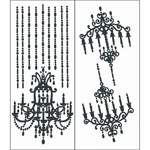 Chandelier Self-Stick Decal