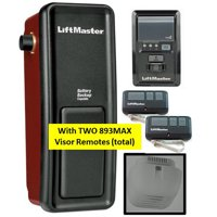 8500 WITH 2-893MAX REMOTES LIFTMASTER ELITE SERIES WALL MOUNTED GARAGE DOOR OPENER