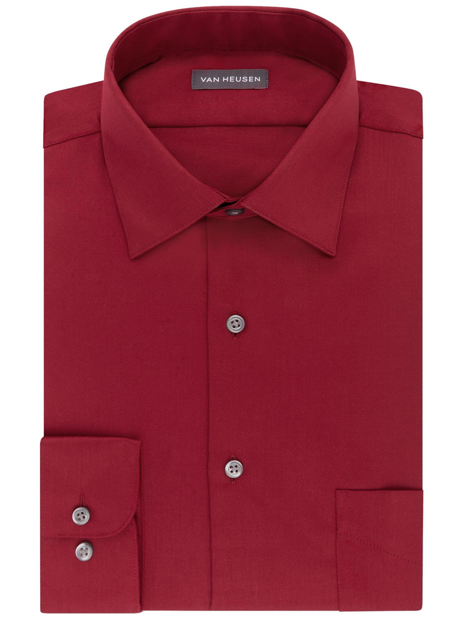 Choose SZ//color Van Heusen Men/'s Big and Tall Dress Shirts Lux Sat