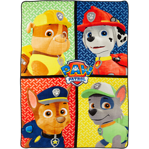 "Paw Patrol 'Puppy Rescue' Twin 62"" x 90"" Blanket"