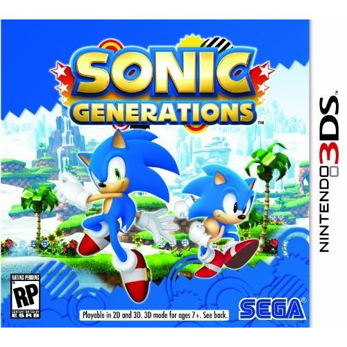 Sega Sonic Generations - Action/Adventure Game - Cartridge - Nintendo 3DS