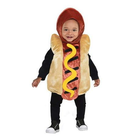 Halloween Mini Hot Dog Costume