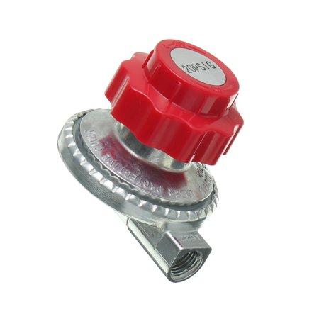 Adjustable 0 to 20psi Propane Regulator LP LPG Gas Parts Grill Fryer Stove 1/4