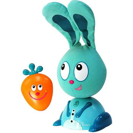 Quaps Jojo Hide & Seek Interactive Blue Bunny Rabbit Toy No Carrot Electronic, Battery & Wind-up Electronic & Interactive