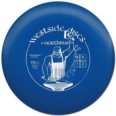 Tournament Northman 170-174g, Colors may vary By Westside Golf Discs