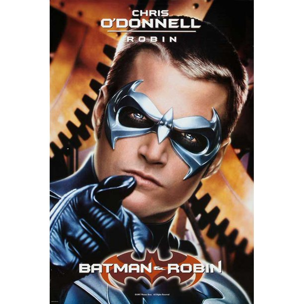 Batman And Robin Movie Poster Style G 27 X 40 1997 Walmart Com Walmart Com