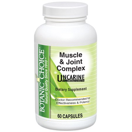 Botanic Choice Muscle & Joint Complex, 60 Ct (Ultra Joint Complex)