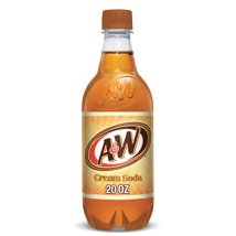 Soft Drinks: A&W Cream Soda