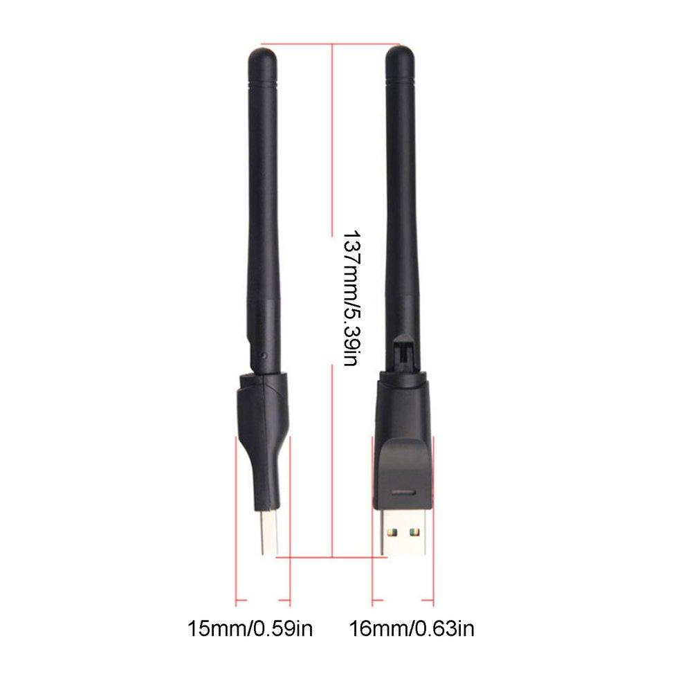 Mini Wireless USB WiFi Adapter Network LAN Card MT7601 150Mbps 802.11N//G//B Network LAN Card WiFi for Set Top Box