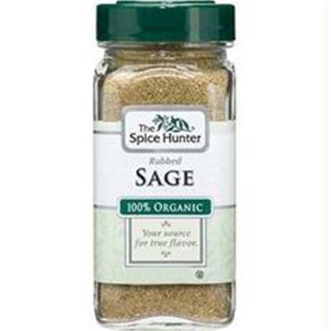 Spice Hunter B06345 Spice Hunter Rubbed Sage  -6x0. 9oz
