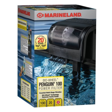 Marineland Penguin 100 Power Filter - Up to 20 gal 100 gph