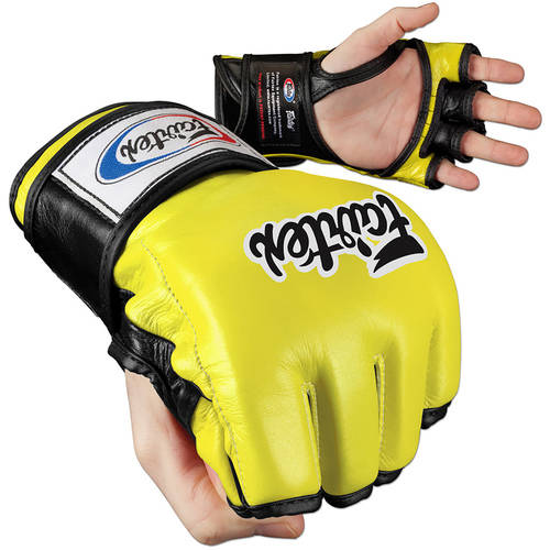 Fairtex Ultimate Combat MMA Gloves, Open Thumb