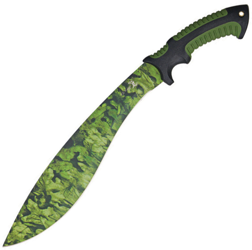 Elk Ridge ER-523 Camo Blade Bolo Machete, 19.5-Inch Multi-Colored