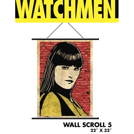Watchmen - Wall Scroll - Silk Spectre Pop Art - Silk Spectre Watchmen