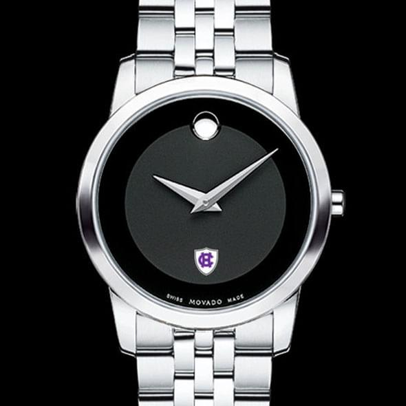 Holy Cross Women's Movado Museum with Steel Bracelet by Movado