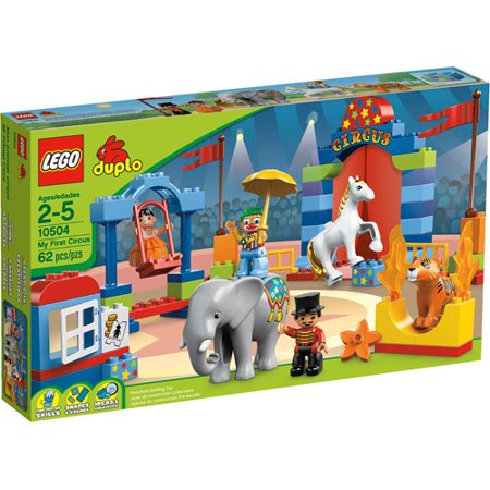 LEGO DUPLO LEGO Ville My First Circus Play Set