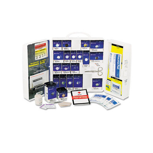 First Aid Only Large First Aid Kit, 209 Pieces, OSHA Compliant, Plastic Case