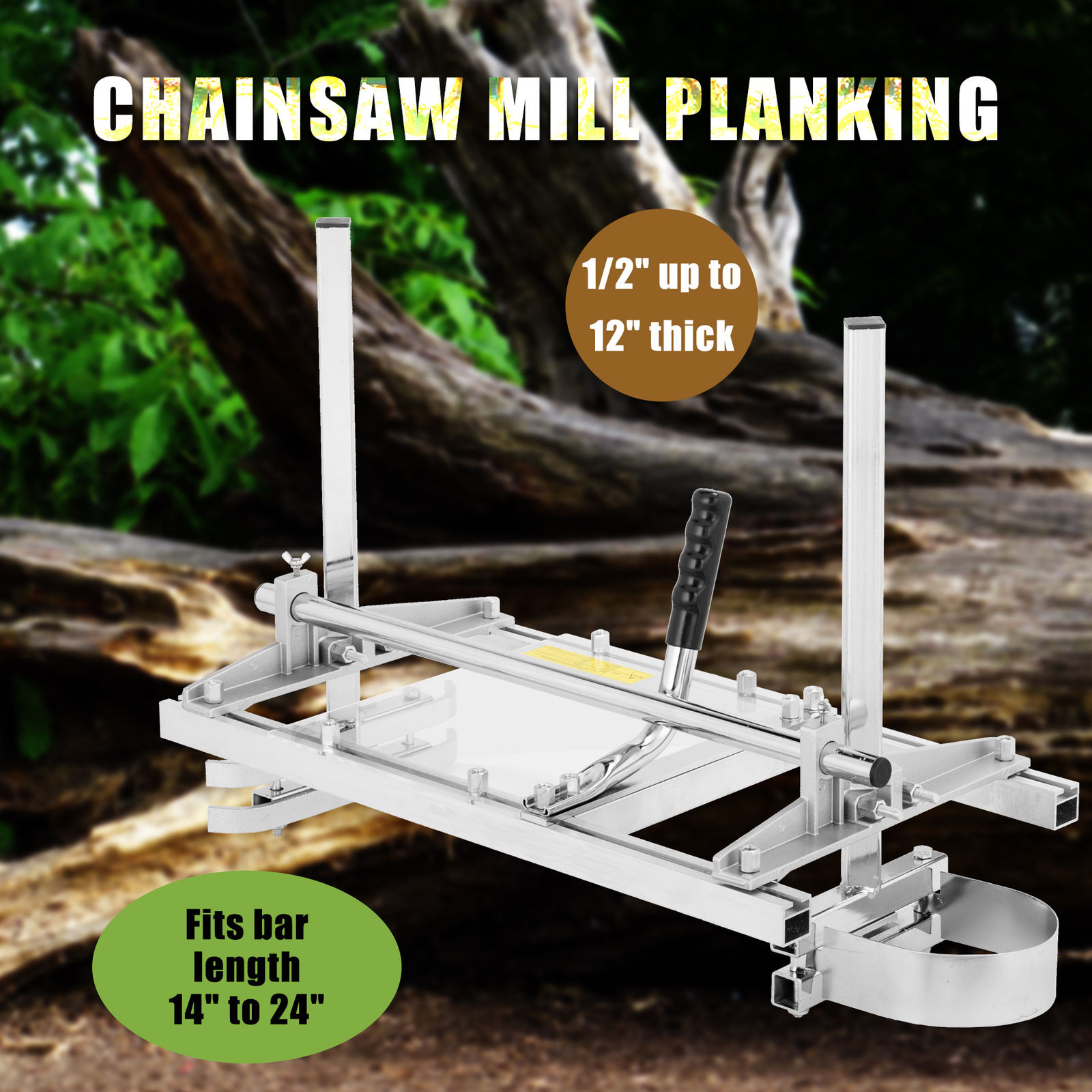 ROMYIX Mobile chainsaw mill 14-24  portable sawmill Planking Millling Cutting