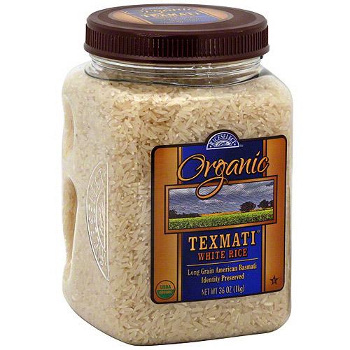 Texmati Organic White Rice, 32 oz (Pack of 4)