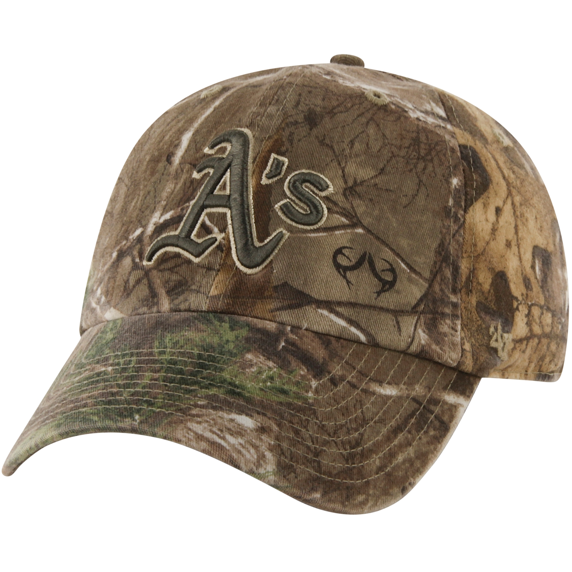 '47 Brand Oakland Athletics Franchise Fitted Hat - Realtree Camo