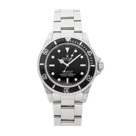 "Pre-Owned Rolex Submariner ""No Date"" 14060 Watch"