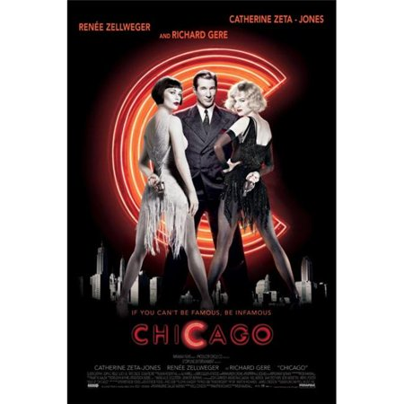 Posterazzi PYRPAS0728 Chicago - Movie Poster Print - 24 x 36 in. (Macy ' In Chicago)