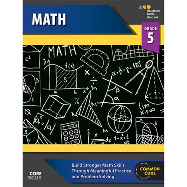 Houghton Mifflin Harcourt SV-9780544268234 Core Skills Mathematics Grade 5